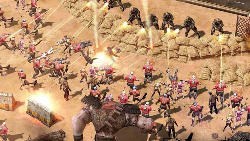 Şehir Kurma ve Zombilerle Savaş Oyunu
