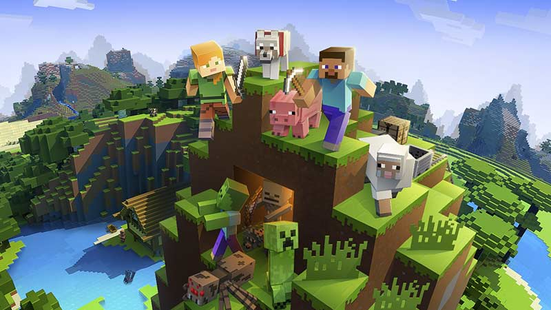 Telefon için Android Ücretsiz Minecraft Oyunu
