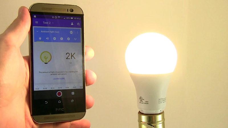 Telefonla Işık Şiddeti Ölçmek (LUX Değeri)