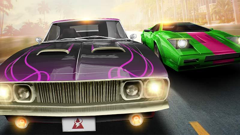 Klasik Arabalar Drag Yarışı Oyunu