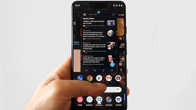 Telefonunuzda Mesajlar için SMS Koyu Tema