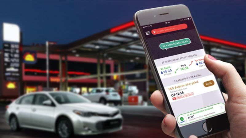 En Yakın Benzin İstasyonu ve Litre Fiyatı Uygulaması