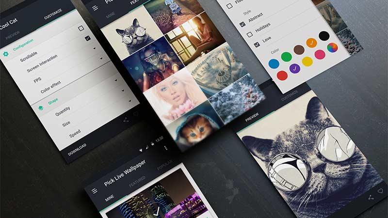 Gelişmiş Albüm Oluşturma ile Android Foto Galeri