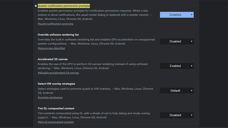 Google Chrome Bildirim Uyarılarını Kapatmak