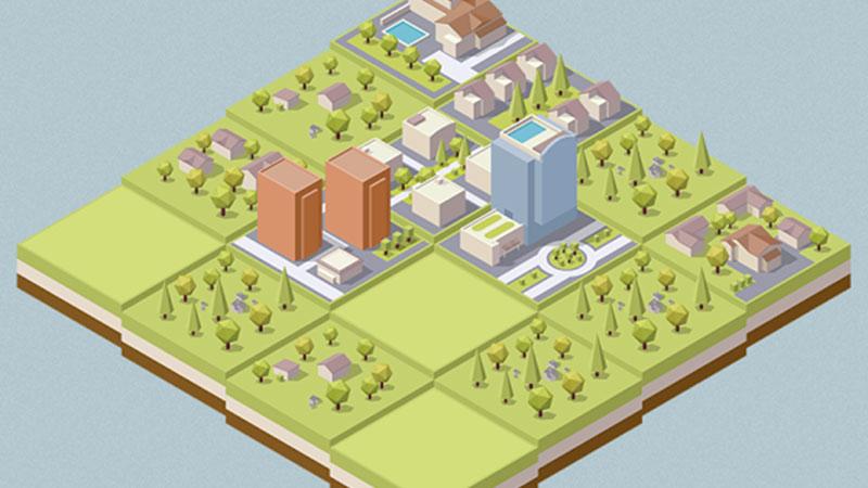 Şehir Kurmalı 2048 Bulmaca Oyunu